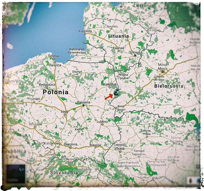 bialowieza map